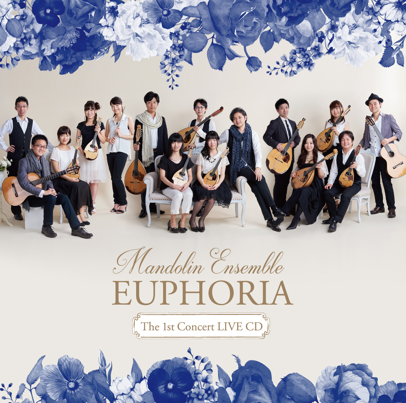 Mandolin Ensemble EUPHORIA 第1回演奏会 LIVE CD